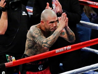 Miguel Cotto en su despedida / EFE