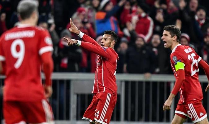 El Bayern golea en Alemania / EFE