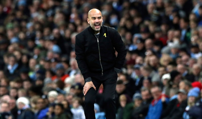 Guardiola podría perder un delantero / Foto AP