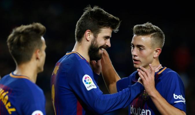 El Barca busca un reemplazo de Piqué / Foto AP