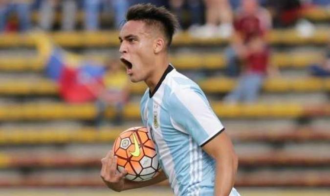 El delantero es la nueva joya del fútbol argentino| AP