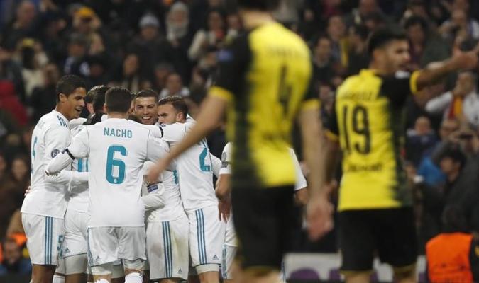 El Real Madrid logó victoria en último partido del año en la Champions / EFE