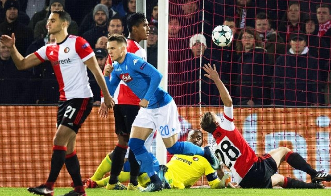 Napoli jugará la Europa League / Foto EFE