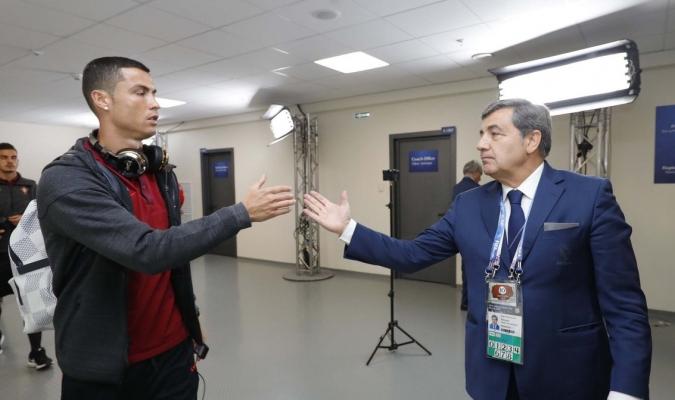 Fernando Gomes felicitó a Cristiano / Foto Referencia
