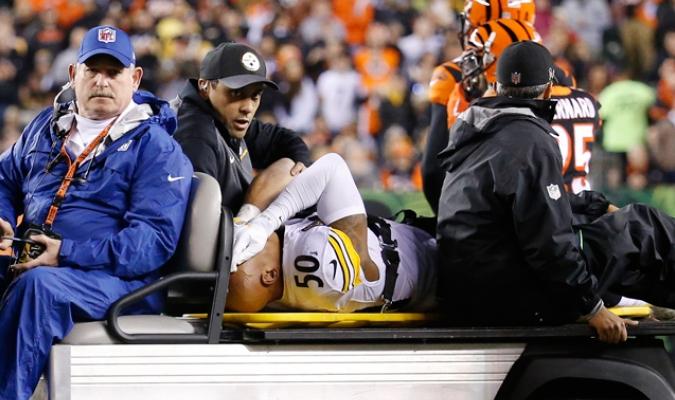 Shazier fue operado el miércoles / Foto AP