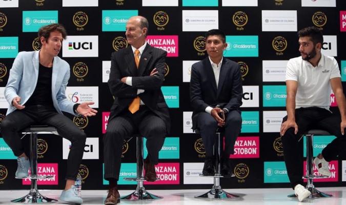 Alberto Contador estará en Colombia / Foto EFE