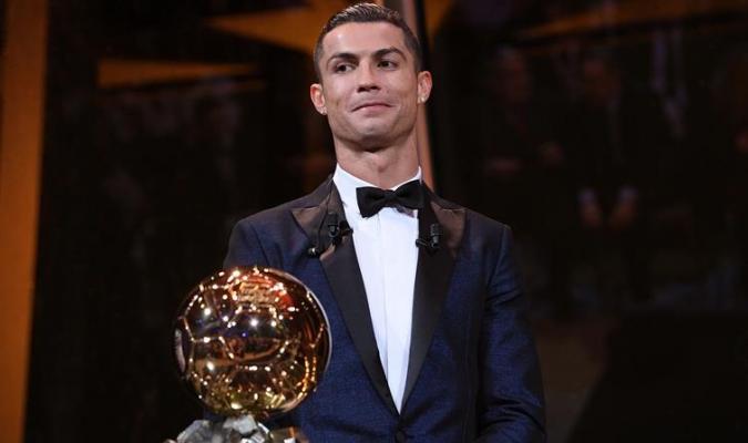 El portugués habló tras recibir el Balón de Oro / Foto EFE