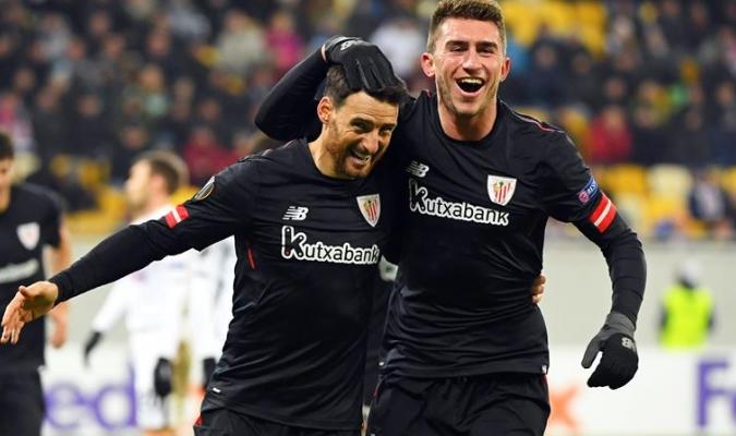 Aduriz marcó para el Athletic / Foto EFE