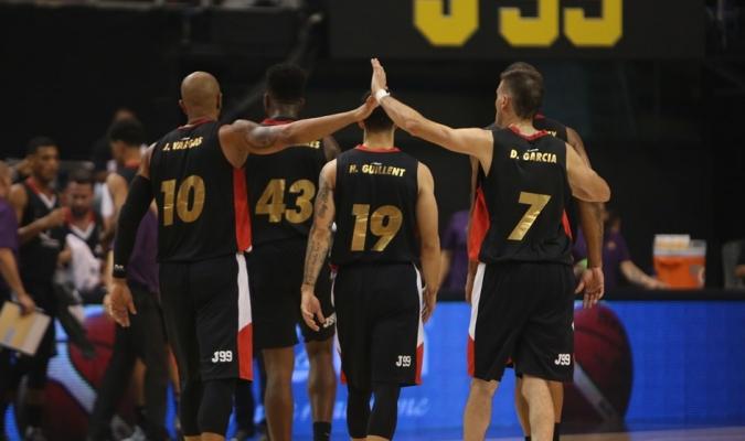 Guaros está a un triunfo de coronarse / Foto FIBA