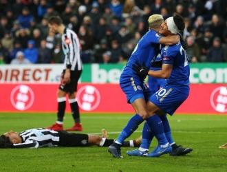 El Leicester le dio vuelta en casa del Newcastle / Foto Agencias