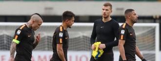Los giallorossi no aprovecharon para recortar puntos/ Foto AP