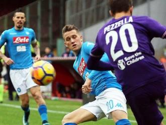 El Nápoles acumula 39 puntos en la tabla/ Foto EFE