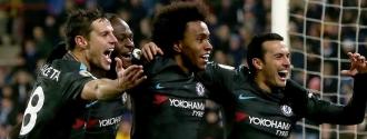 Chelsea venció al Huddersfield  de visitante / Foto EFE