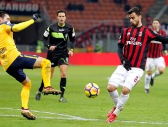 Suso guió al Milan a la victoria / Foto AP