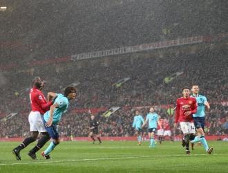 Lukaku marcó el gol de la victoria / Cortesía: @ManUtd_Es