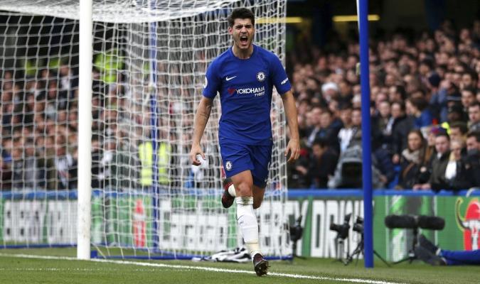 Morata es el goleador del Chelsea| AP