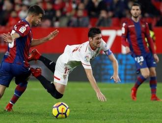 Sevilla no pudo ante el Levante / EFE
