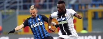 Udinese le quitó el invicto a Spalletti y sus pupilos