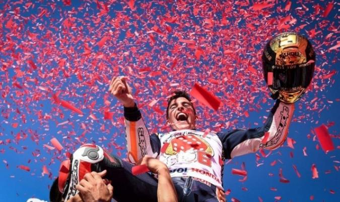 Marc Márquez confía en aumentar su joven legado / Foto AP