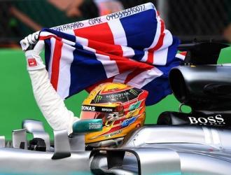 Hamilton y Mercedes volvieron a celebrar en 2017 / Foto Agencias