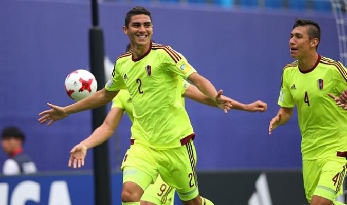 Acumuló más de 1.400 minutos oficiales en su etapa con la Sub-20 de Venezuela | GETTY IMAGES