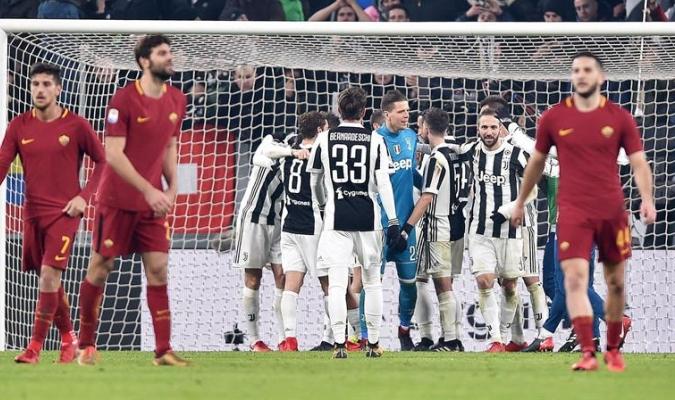 La Juve hizo respetar su recinto / Foto EFE