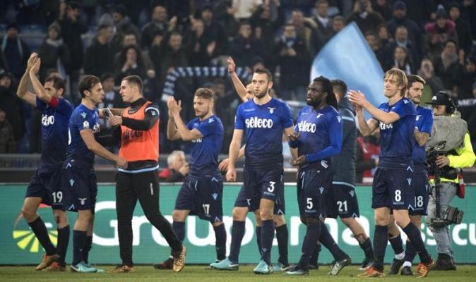 Lazio celebró / EFE