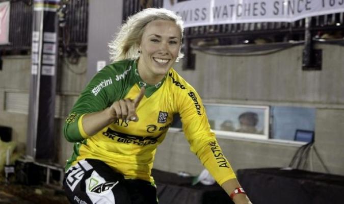 La australiana venía del subcampeonato en el mundial de BMX| http://www.smh.com.au