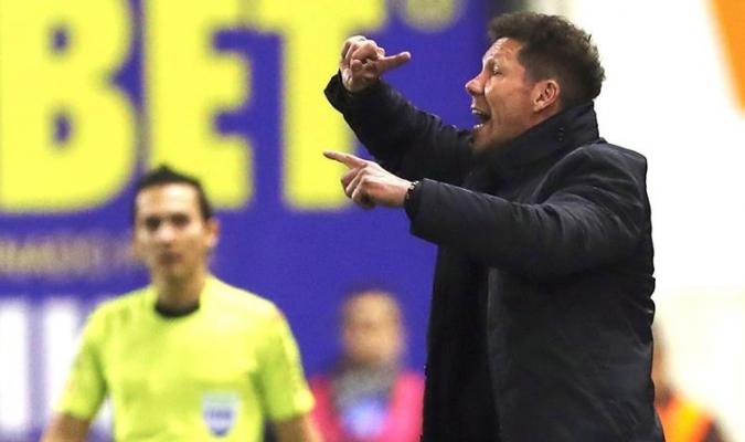 Simeone dio indicaciones / Foto EFE