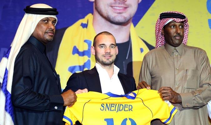 Sneijder usará la 10/ Foto Cortesía