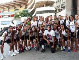 Las chicas afrontarán a las estadounidenses tras realizar módulo en Caracas  @FemeninoFVF