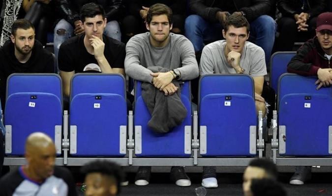 Las figuras del fútbol inglés dijeron presente / Foto EFE