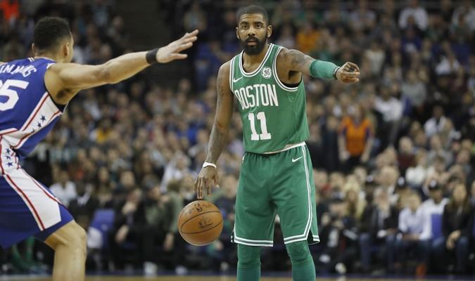 Irving sigue despuntando para Boston / AP