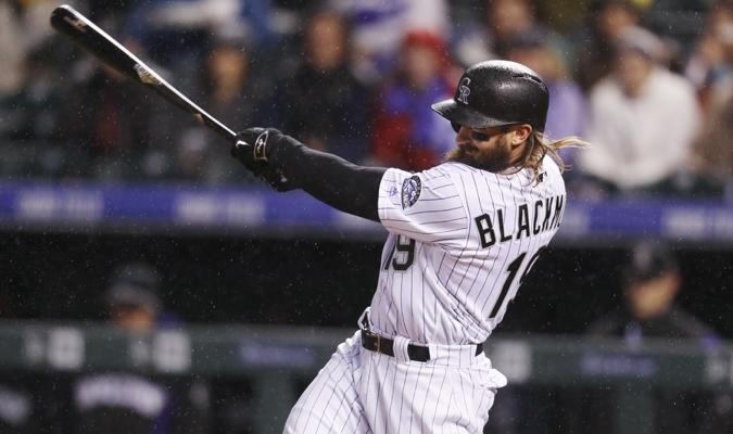 Blackmon fue el primer bate de su equipo durante la zafra pasada / AP