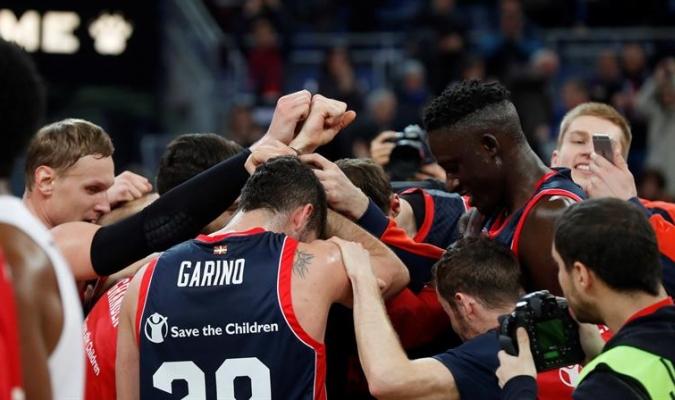 Los españoles aplastaron al equipo griego / Foto EFE