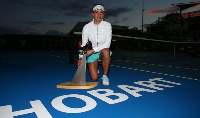 Mertens ganó su segundo título WTA/ Foto Cortesía