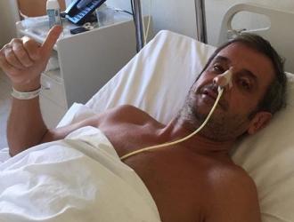Moya dijo que ahora se está recuperando bien/ Foto @lmoya_oficial