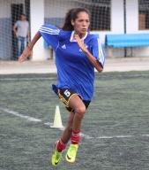 Las damas atléticas hicieron test de velocidad y resistencia / Prensa Atlético Venezuela