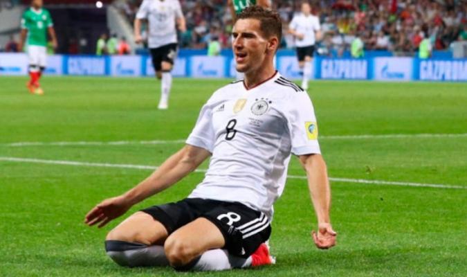 El centrocampista ganó con Alemania la pasada Copa Confederaciones | AP