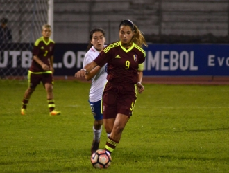 Deyna mostró su alegría / Prensa Femenino FVF