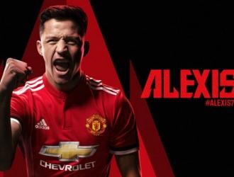 Alexis usará el número 7/ Foto manutd.com