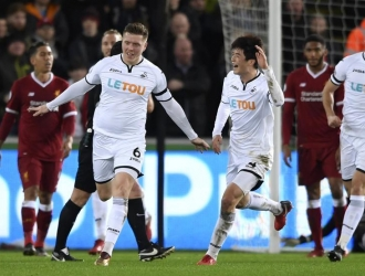 Swansea terminó con la racha del Liverpool / Foto Agencias