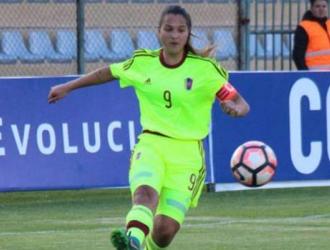Deyna ha marcado todos los goles de Venezuela en el torneo/ Foto @FVF_Oficial