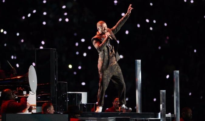 Justin Timberlake / Cortesía NFL