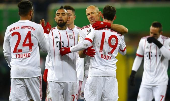 El Bayern se dio un festín en copa / Foto AP