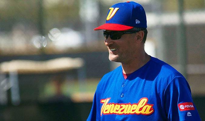 Vizquel fue el manager de Venezuela en el CMB/ Foto Cortesía