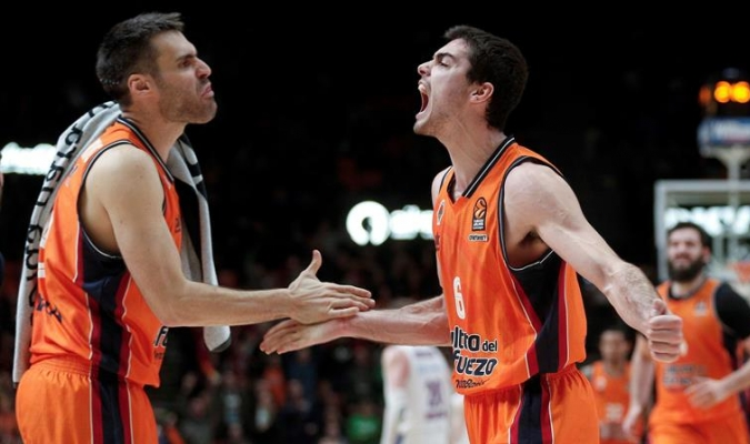 Valencia celebró dramático triunfo / Foto EFE