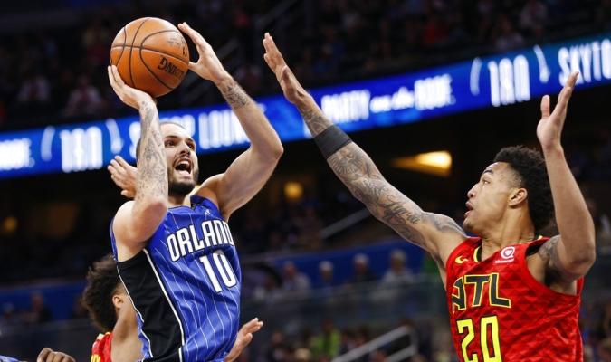 Fournier anotó 22 puntos para el Magic / Foto AP