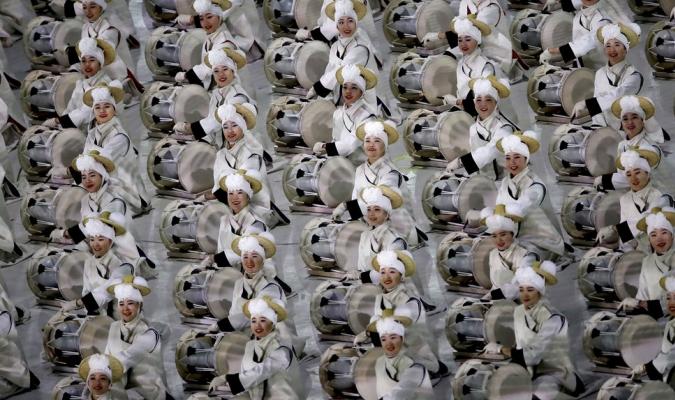 En el desfile se apreciaran a las dos Coreas| AP