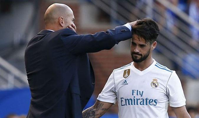 Zidane acalló los rumores de la salida de Isco/ Foto Cortesía